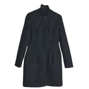 5/$25 New York and Company Hidden Button Peacoat